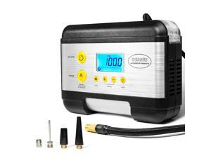 Portable Tire Inflator with Digital Display for Car (12V) 100 PSI