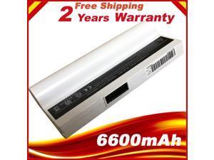 White Battery for Asus Eee PC 901 901HD 1000 1000H 1000HD AL22-901 AL23-901 AP23-901