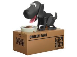 Choken Bako Robotic Dog Piggy Coin Bank Black Color Ver