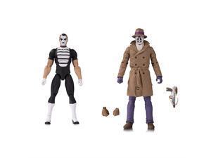 DC Comics Doomsday Clock Rorschach & Mime Action Figure Set