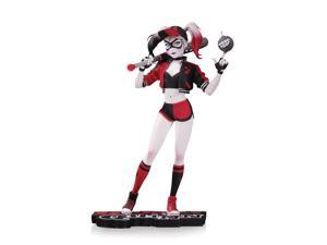DC Comics Red, White & Black Harley Quinn 7 inch Statue By Mingjue Helen Chen