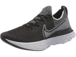 Nike Men's Race Running Shoe, Black Black Fwhite womens 10