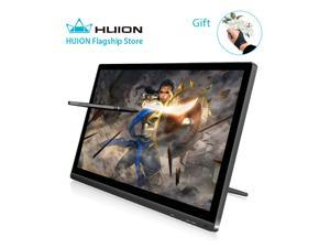 Huion GT-220 V2 Tablet Monitor 21 5 Inch Interactive Pen Monitor Pen  Display, IPS Panel, HD Resolution(1920x1080) with Screen Protector and  Glove