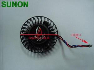 58mm T127015DM 3Pin 0.15A Fan for VGA Video Card Asus 9600 EN9600GT