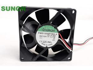For Sanyo 109P1212H402 DC12V 0.45A 12CM 12025 120mm 120x120x25mm server inverter cooling fans