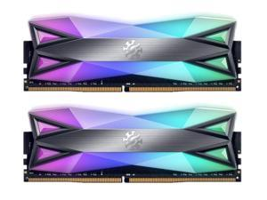 XPG SPECTRIX D60G RGB Desktop Memory: 32GB (2x16GB) DDR4 3600MHz CL18 GREY