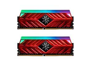XPG SPECTRIX D41 RGB Desktop Memory: 16GB (2x8GB) DDR4 3600MHz CL18 Red