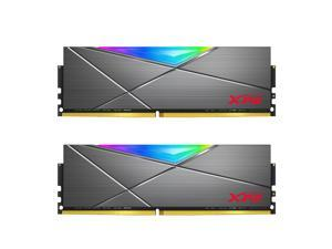 XPG SPECTRIX D50 RGB Desktop Memory: 16GB (2x8GB) DDR4 3200MHz CL16 GREY
