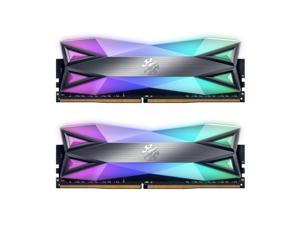 XPG SPECTRIX D60 RGB Desktop Memory: 32GB (2x16GB) DDR4 3000MHz CL16 GREY