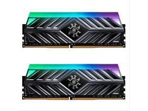 XPG SPECTRIX D41 RGB Desktop Memory: 32GB (2x16GB) DDR4 3000MHz CL16 Tungsten