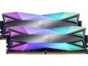 XPG SPECTRIX D60 RGB Desktop Memory Series: 16GB (2x8GB) DDR4 4133MHz CL19 GREY
