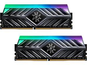XPG SPECTRIX D41 RGB Desktop Memory Series: 16GB (2x8GB) DDR4 3600MHz CL18 Tungsten