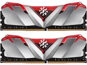 XPG GAMMIX D30 Desktop Memory: 16GB (2x8GB) DDR4 3200MHz CL16 Red