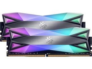 XPG SPECTRIX D60G RGB Gaming Memory: 16GB (2x8GB) DDR4 3600MHz CL14 GREY