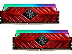 XPG SPECTRIX D41 RGB Gaming Memory: 16GB (2x8GB) DDR4 3200MHz CL16 Red