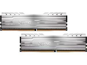 XPG GAMMIX D10 Desktop Memory Series: 16GB (2x8GB) DDR4 3000MHz CL16 Sliver