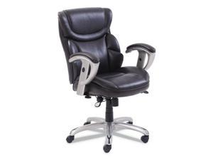 SertaPedic® Emerson Task Chair  Supports up to 300 lbs.  Brown Seat/Brown Back