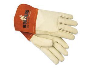 Memphis Glove 4950l Grain Leather Gauntlet Cuff Sewn W/kevl