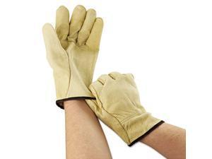 Memphis Glove 3400l Large Straight Thumb Grain Leather Drivers Glove