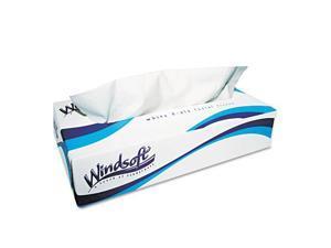 Facial Tissue in Pop-Up Box, 100/Box, 30 Boxes/Carton
