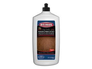 High Traffic Hardwood Polish and Restorer, 32 oz Squeeze Bottle