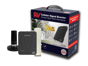 American Booster VOLTEX 50 RV Plus - Boost ANY Carrier's Cellular Reception Coverage On The Go