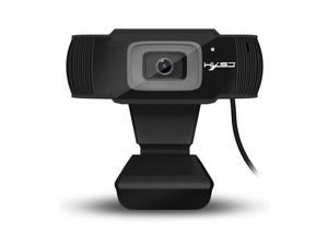 HD 1080P Webcam, HXSJ 5MP Fixed Focus 4K/1080P Full HD Webcam USB Webcam Desktop Laptop Camera Live Streaming Webcam Built-in Mic Widescreen HD Video Webcam