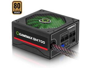 700W Power Supply Semi-Modular 80Plus Bronze PSU PFC Silent Fan ATX Computer SATA For Gaming PC Power Supply GM-800