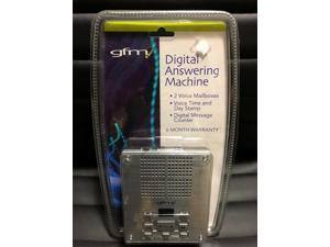 Gfm Digital Answering 2 Voice Time/day Stamp Digital Messaging System Fa972 Fs