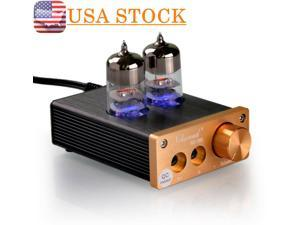 Nobsound Audio Mini Vacuum Tube Headphone Amplifier Stereo Hifi Earphone Amp New
