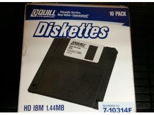 Quill: Diskettes Hd Malltree 1.44mb (10-pack)