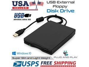 3.5 Inch Portable Usb 2.0 External Floppy Disk Drive 1.44 Mb For Window 7/8/10
