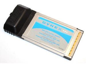 Dynex Dx Fc202 Ieee 1394 Firewire Port Pcmcia Card Bus