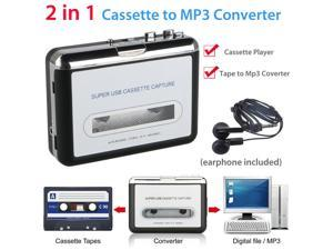 Usb Cassette Tape To Pc Mp3 Cd Digital File Converter Capture Audio Music Player