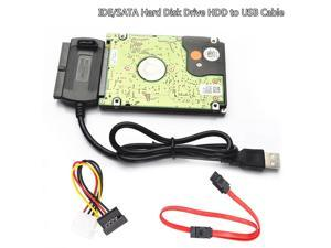 "Usb2.0 Usb To 2.5"" Ide 3.5"" Ata Sata Hdd Hard Drive Disk Cable Adapter Connect"