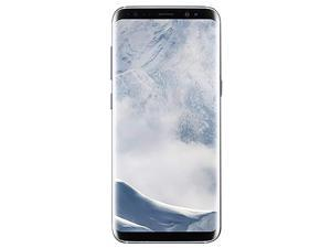 "Original Samsung Galaxy S8 G950U 4G LTE Unlocked Phone  12 MP Camera 5.8"" 64GB Android Octa-core Arctic Silver"