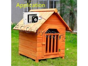 ECO 12V 65W Cooling Pet Air Conditioner Cooler Refrigerator for DIY Dog House