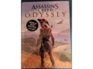 New Assassins Creed Odyssey Collectors Edition Hardcover Strategy Game Guide