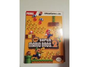 New! Prima New Super Mario Bros. 2 Official Game Guide New Sealed