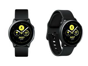 Samsung - Galaxy Watch Active - GPS - 40mm - Black - Excellent A+ Condition - 90 Day Warranty!