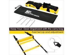 Agility  Speed Ladder  Soccer Training 12 Rungs 20 Feet Carry Bag