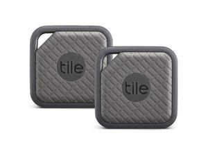 Tile Sport - Key Finder, Phone Finder, Anything Finder, Graphite - 2 Pack