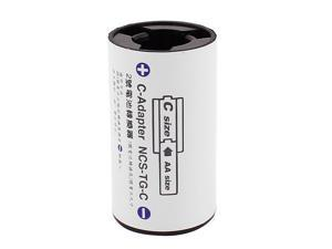 AA Size Battery to C Size Battery Battery Adaptor Converter C-Adapter