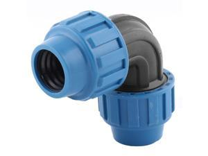 Garden Yard Irrigation Sprinkler Pipe Hose Elbow Connector 1BSP Thread