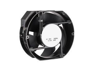 Cooling Fan 170mm x 150mm x 51mm FP-108EX-S1-B DC 380V 0.15A Dual Ball Bearings