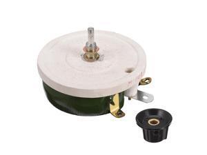 Wirewound Ceramic Potentiometer Variable Rheostat Resistor 150W 100R Ohm With Knob