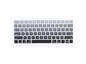 Unique BargainsComputer Silicone Wireless Soft Keyboard Protection Film Cover Gray for iMac