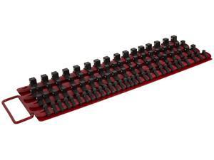 STEELMAN 42027 1/4, 3/8, and 1/2-Inch Drive Socket Storage Tray