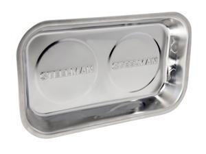STEELMAN 41807 10-Inch x 6-Inch Rectangular Magnetic Parts Storage Tray