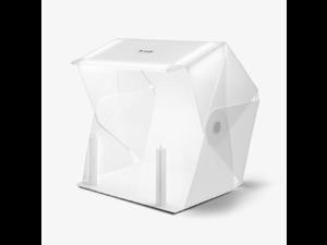 "ORANGEMONKIE Foldio3 + Halo Bars 25"" All-in-one Portable Foldable Light Photo Shooting Studio Box with LED Lights"